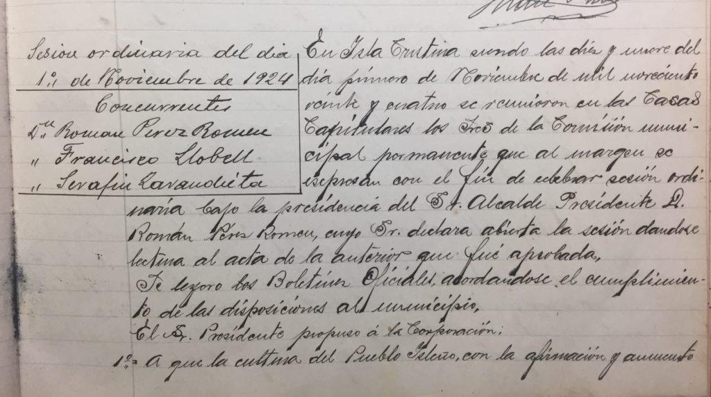 Archivo Municipal de Isla Cristina, donde se prohibían el maltrato animal en espectáculos públicos