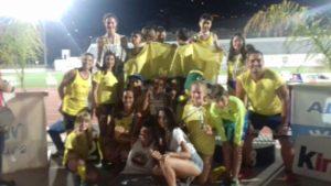 La cantera con 8 medallas del Andaluz Infantil de Atletismo