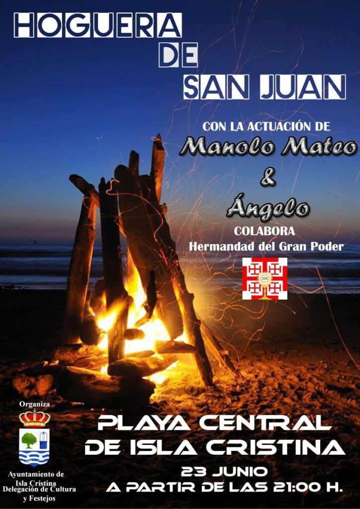 Tradicional Hoguera de San Juan este viernes en Isla Cristina