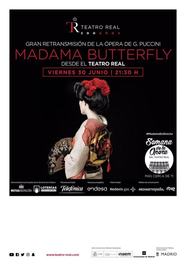 Disfruta en directo la ópera «Madama Butterfly» del Teatro Real, en Isla Cristina