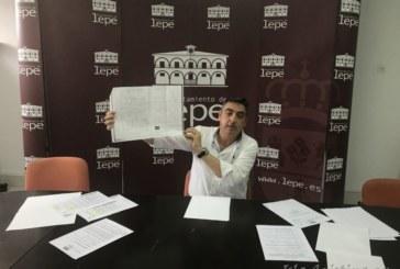 El PP de Lepe demuestra que quien tiene paralizada la situación del apeadero de autobuses es el PSOE y la Junta de Andalucía