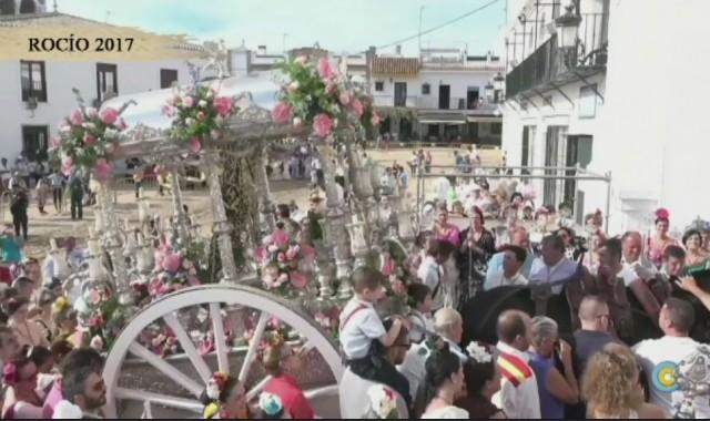 La Hermandad del Rocío de Isla Cristina se presenta ante la Blanca Paloma