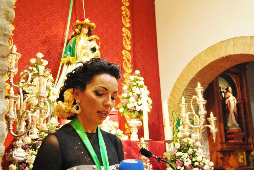 Virginia Bermejo pregonó la romería de La Esperanza 2017