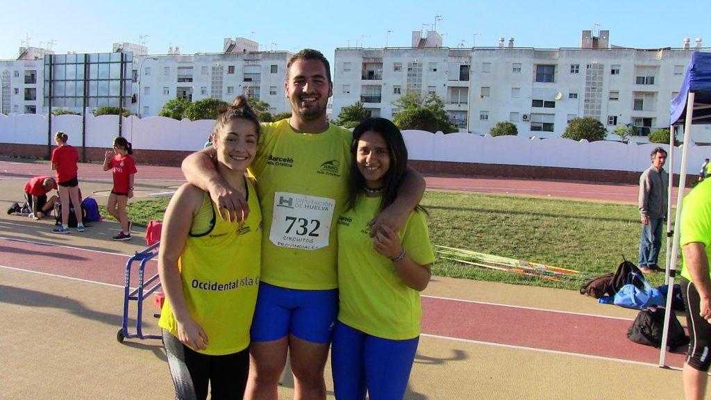 Atletas isleñ@s a por el oro del Campeonato Sub'23 de Andalucía