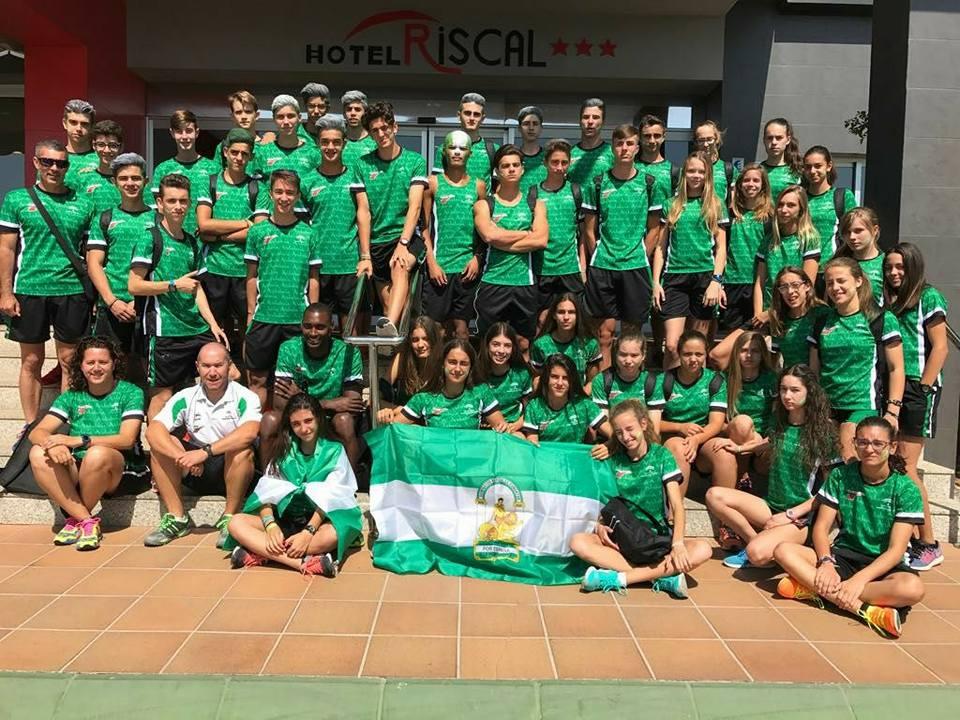 La atleta isleña Eva Cárdenas es plata nacional con la Selección Andaluza Cadete