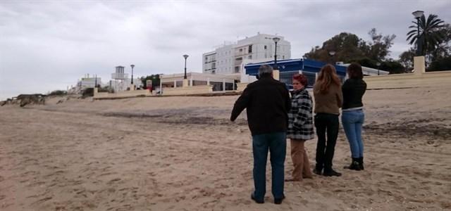 El Gobierno destina 240.000 euros a reparar daños por temporales en las playas onubenses