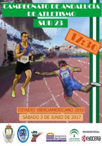 Los onubenses por el oro del Campeonato de Andalucía Sub'23