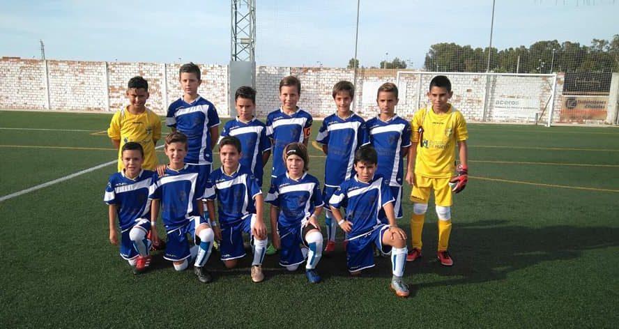 Cuarto puesto para Huelva en el XV Campeonato de Andalucía benjamín de fútbol 7