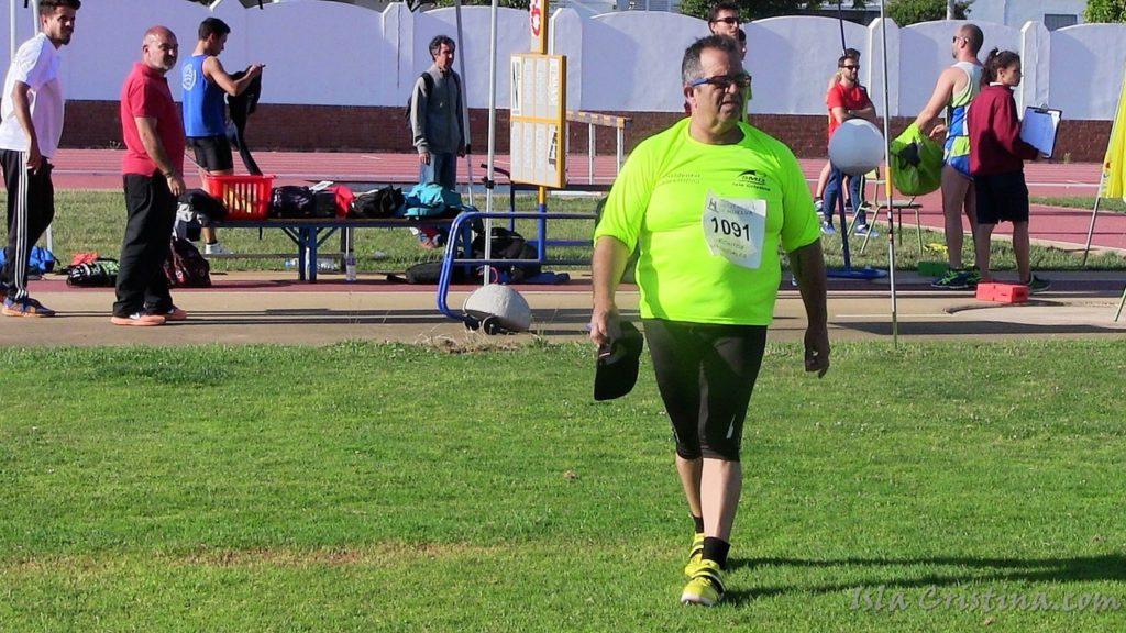 El atleta isleño Toni Palma participa en el Campeonato de España de atletismo adaptado en Burgos