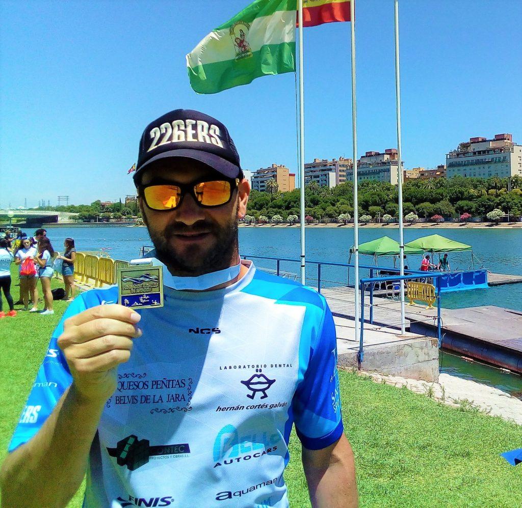 Rubén Gutiérrez, Campeón de Andalucía Máster de Aguas Abiertas en Sevilla