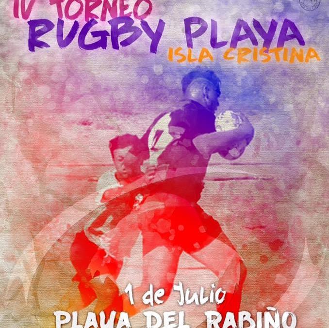 IV Torneo de rugby-playa en Isla Cristina