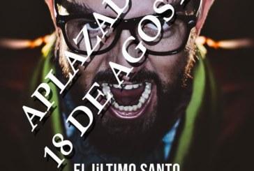 Aplazada la obra de Manu Sánchez 'El Último Santo' en Isla Cristina