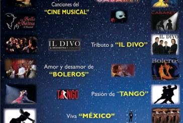 """Este viernes en Isla Cristina """"El Musical Romántico: Canciones que enamoran"""""""