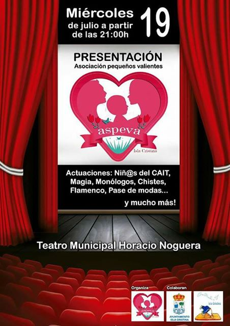 Gala Presentación en Isla Cristina de la Asociación ASPEVA