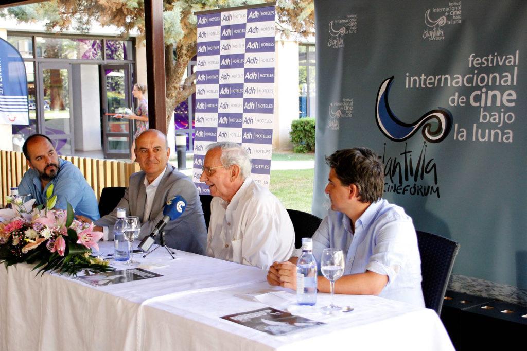 Declaraciónes de Jaime Chávarri con motivo de su Premio 'Francisco Elías' en el Festival de Islantilla
