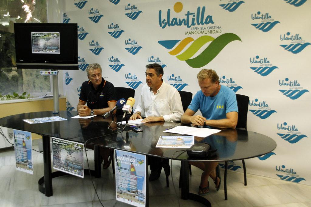 Presentada la Programación Deportiva de Verano y del Programa Náutico en Familia de Islantilla