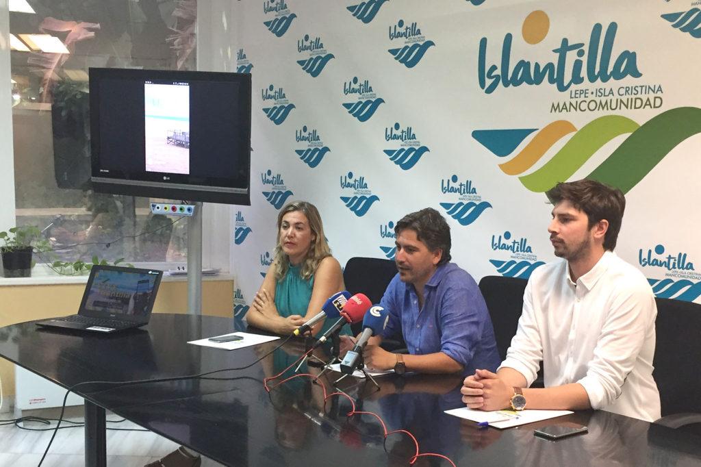 Presentada la nueva aplicación de información turística para smartphone Vive Islantilla