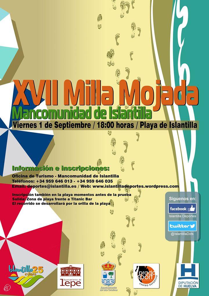 Abierto el Plazo de Inscripciones para la XVII Milla Mojada de Islantilla