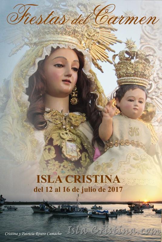 Programación domingo, Fiestas del Carmen 2017 de Isla Cristina