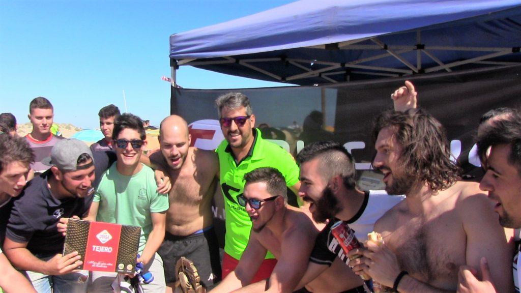 Celebrado con éxito el IV Torneo de Rugby-Playa en Isla Cristina