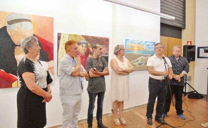 Se inaugura en Isla Cristina la Exposición Fin de Curso de los Talleres Municipales de Arte
