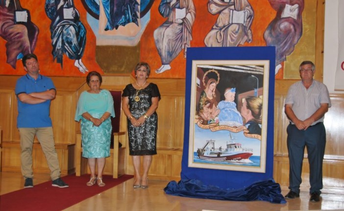La barriada isleña Punta del Caimán presenta el cartel de sus fiestas, obra de Enrique López Nieves