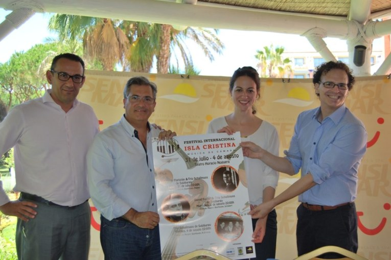 Se presenta el Festival Internacional de Música de Cámara de Isla Cristina