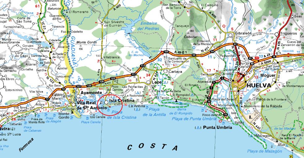 La Junta anuncia la construcción de un nuevo acceso a Isla Cristina