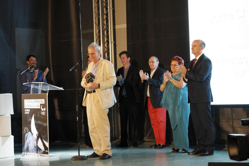 Islantilla Arranca la Décima Edición de su Festival Internacional de Cine Bajo la Luna con la Entrega del Premio 'Francisco Elías'