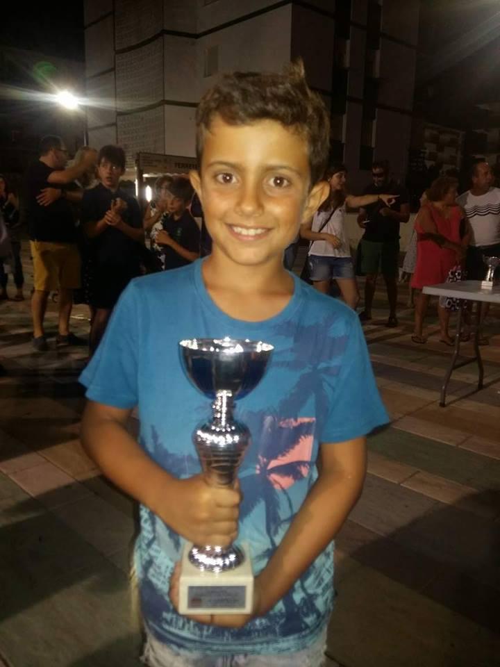 Kevin Irala Campeón Sub 12 del XV Open de La Antilla