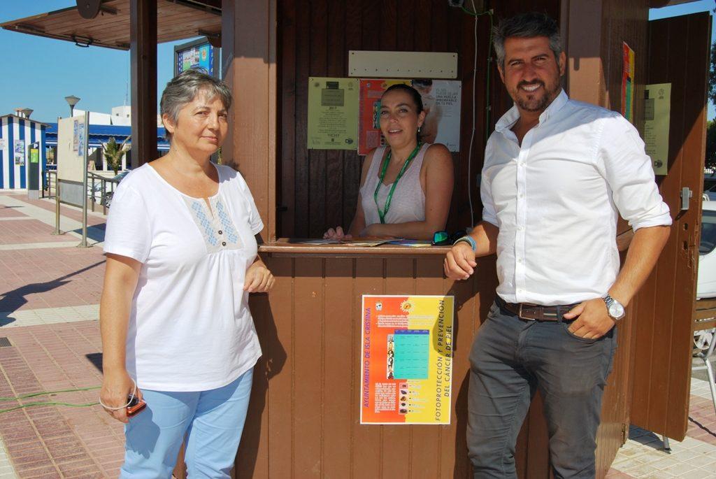 Isla Cristina pone en marcha la nueva Campaña de Prevención contra el Cáncer de Piel