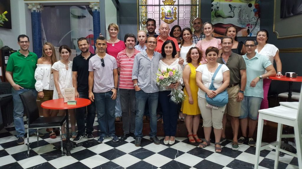 Podólogos de Huelva se reúnen para reforzar la figura de Blanca Núñez