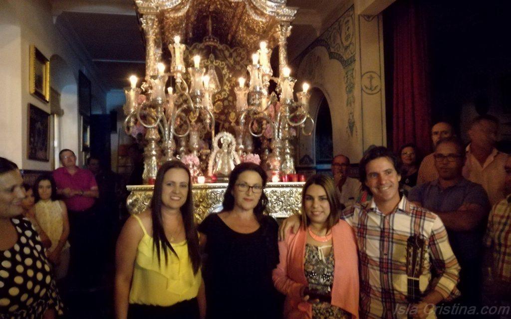 Se inicia el Canto de la Salve en la Hermandad del Rocío de Isla Cristina