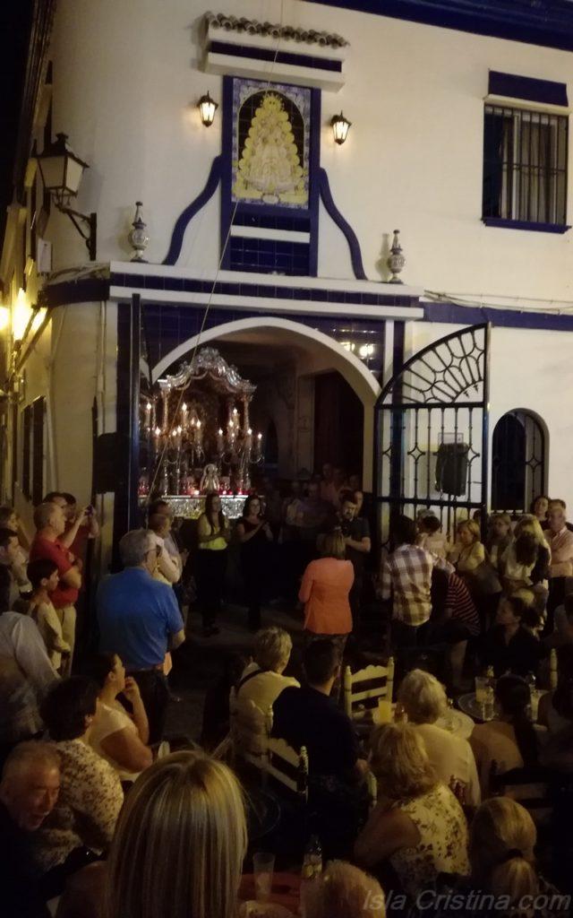 El próximo viernes no habrá Salve en la Casa Hermandad de Isla Cristina
