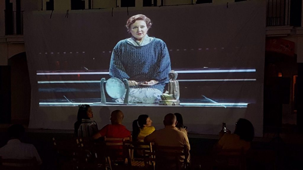 Se emite en directo la ópera Madam Butterfly en Isla Cristina