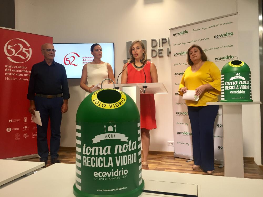Bares y restaurantes de Isla Cristina participan en el Plan de Verano para el reciclaje de vidrio
