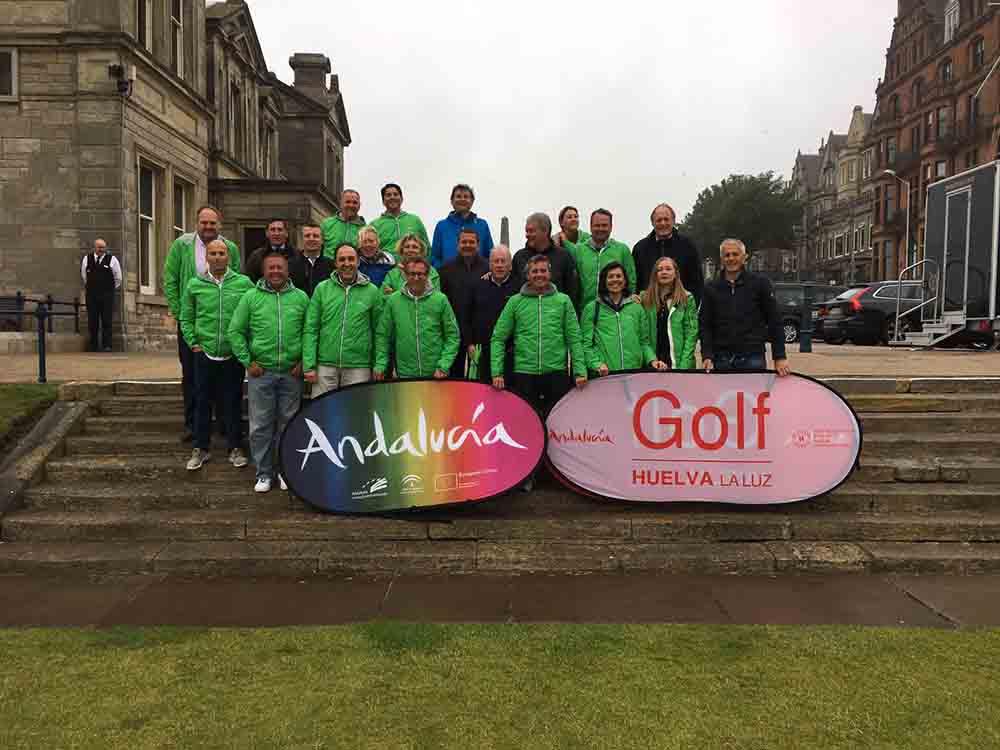 Los principales touroperadores de golf europeos se dan cita en el torneo del Patronato en Escocia
