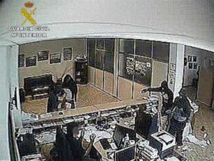 La Guardia Civil detiene a cuatro personas por un atraco cometido en una empresa de Isla Cristina en el año 2013