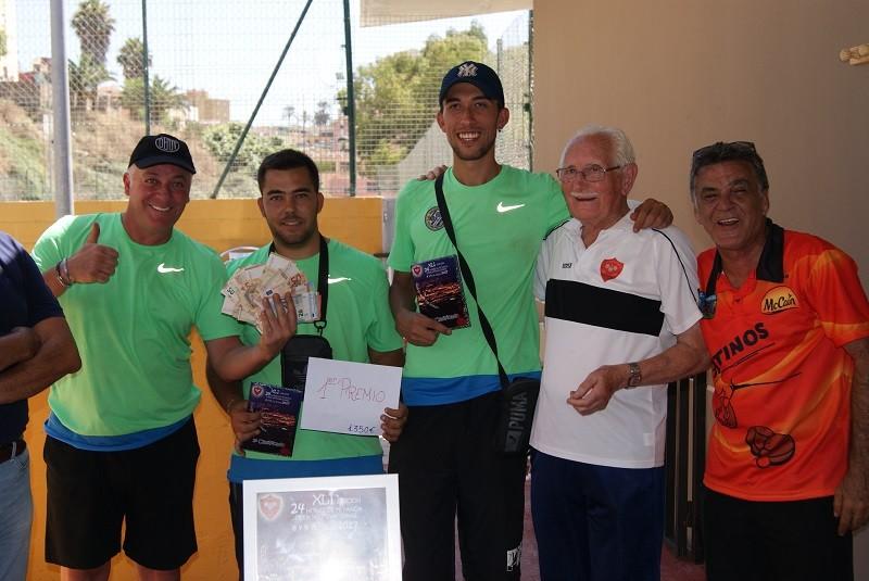 El Virgen del Mar Campeón del 'Torneo 24 horas de Petanca' celebrado en Ceuta