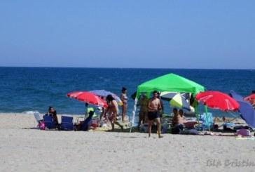 Las Cosas de Goyo «El baño en la playa»