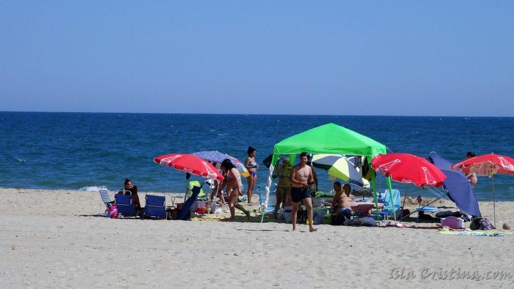 Altas temperaturas para este lunes en la Costa de la provincia de Huelva