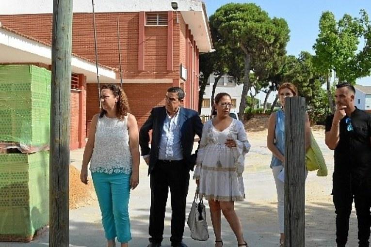 Obras de mejoras en el CEIP Ntra Sra del Carmen y La Higuerita