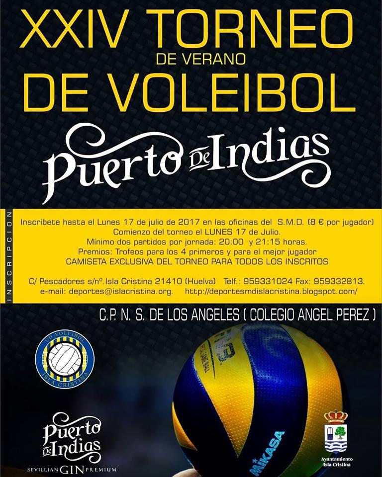 En Marcha el XXIV Torneo de Verano de Voleibol en Isla Cristina