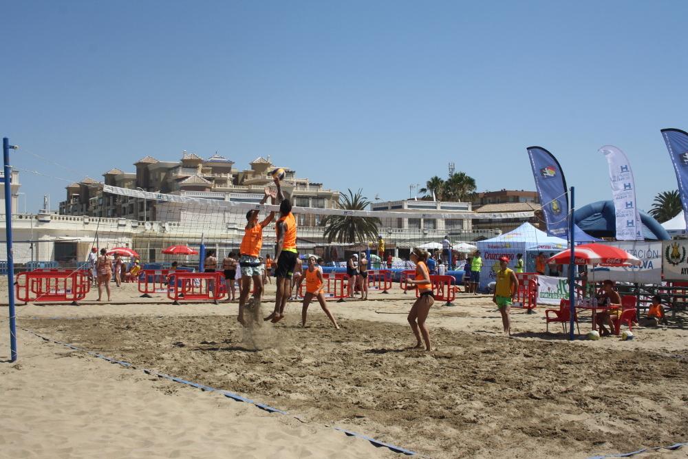 Mazagón abre este fin de semana el circuito de voley playa y Punta Umbría acoge la segunda prueba del 3×3