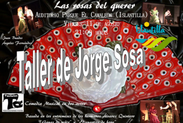 Noche de teatro en el nuevo Auditorio al aire libre de Islantilla