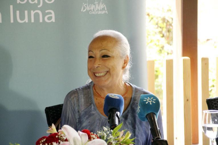 """Cristina Hoyos, Premio 'Luis Ciges' 2017 """"El Cine se enamoró del Flamenco por su lenguaje lleno de sentimiento"""""""