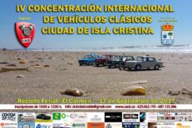 IV Concentración Internacional de Vehículos Clásicos Ciudad de Isla Cristina