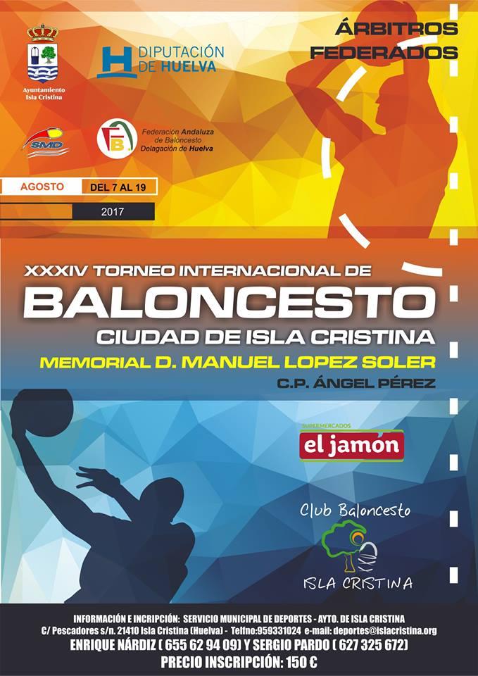 XXXIV Torneo Internacional de Baloncesto Ciudad de Isla Cristina-Memorial Manuel López Soler