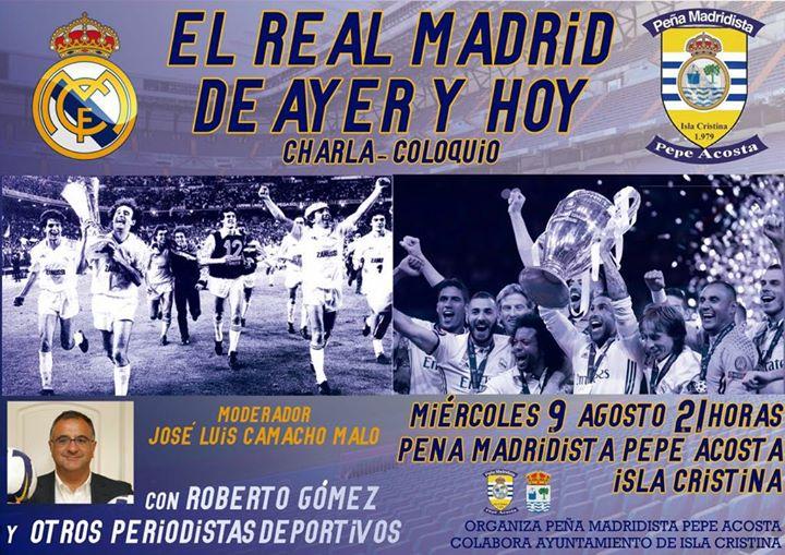 El Real Madrid de Ayer y Hoy, en la Peña Madridista de Isla Cristina