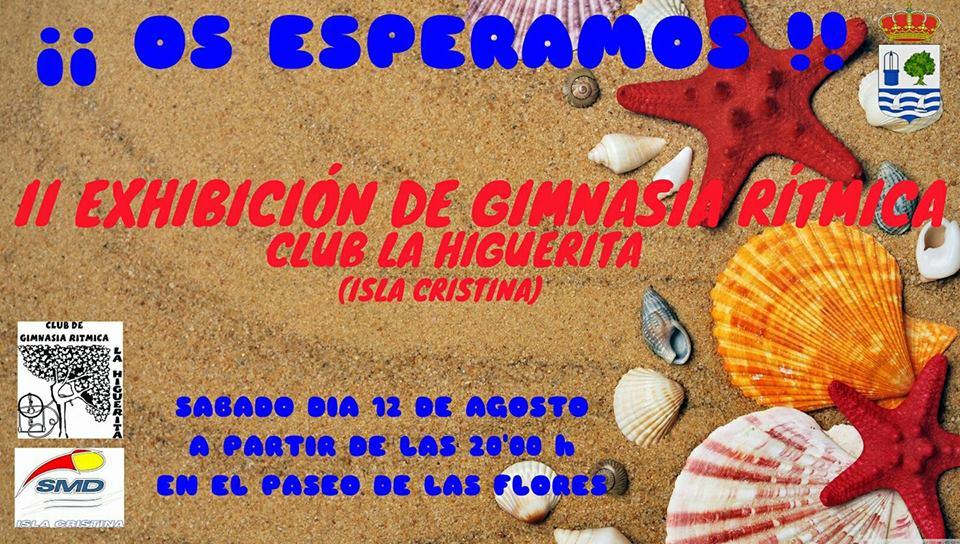 Isla Cristina acoge la «II Exhibición de Gimnasia Rítmica Club La Higuerita»